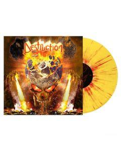 DESTRUCTION - The antichrist - LP - Splatter - Yellow - Red