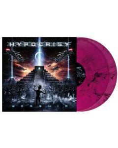 HYPOCRISY - Worship - 2LP - Marbled - Violet - Black