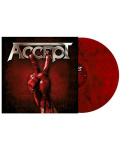 ACCEPT - Blood of the Nations - 2LP - Marbled - Red Black
