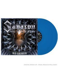 SABATON - Attero dominatus - Re-Armed - 2LP - Blue