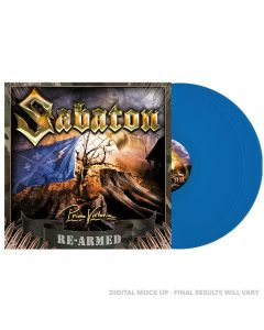SABATON - Primo victoria - Re-Armed - 2LP - Blue
