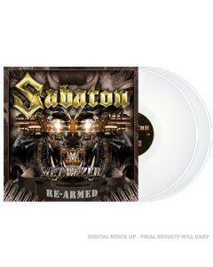 SABATON - Metalizer - Re-Armed - 2LP - White