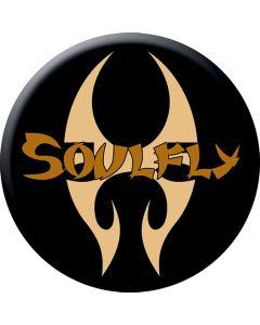 SOULFLY - Logo - Button