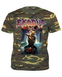 EXODUS - Blood in , Blood Out - Camouflage - T-Shirt