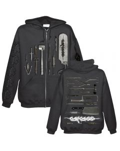 CARCASS - Tools - Kapuzenjacke / Zipper