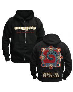 AMORPHIS - Under the red Cloud - Kapuzenjacke / Zipper