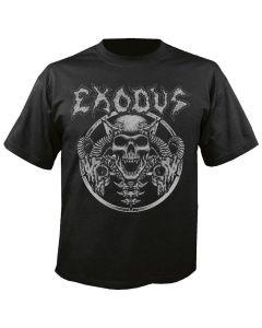 EXODUS - Horns Skull - T-Shirt