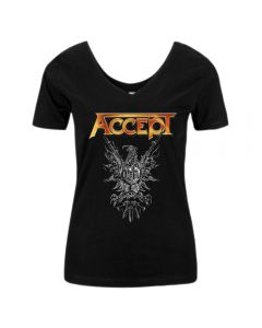 ACCEPT - The Rise of Chaos - GIRLIE - Scoop Back - V - Shirt