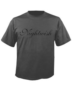 NIGHTWISH - Logo - Charcoal - T-Shirt