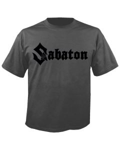 SABATON - Logo - Charcoal - T-Shirt
