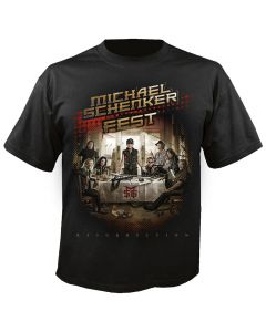 MICHAEL SCHENKER FEST - The Magic is still with us - T-Shirt