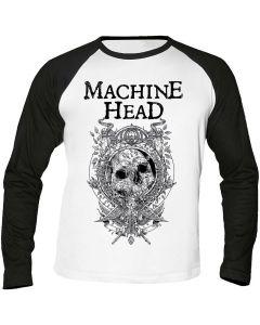 MACHINE HEAD - Catharsis - Clock - Baseball - Langarm - Shirt / Longsleeve