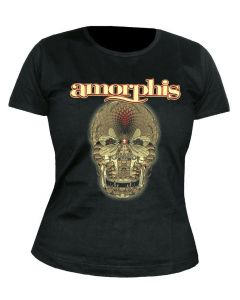 AMORPHIS - Queen of Time - Cover - GIRLIE - Shirt