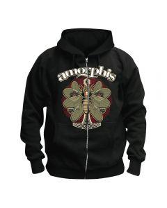 AMORPHIS - Queen of Time - Moth - Kapuzenjacke / Zipper