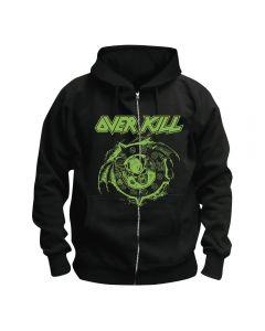 OVERKILL - Krushing Skulls - Kapuzenjacke / Zipper