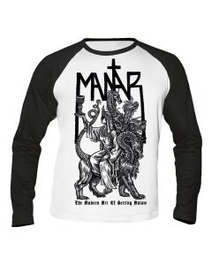 MANTAR - The modern art of setting ablaze - Baseball - Langarm - Shirt / Longsleeve