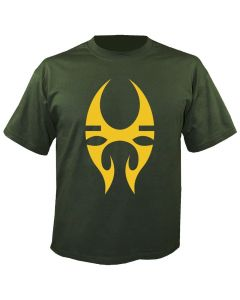 SOULFLY - Tribal Logo - Olive - T-Shirt
