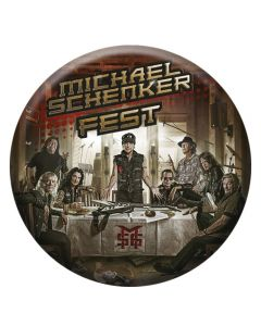 MICHAEL SCHENKER FEST - Resurrection - Button / Anstecker