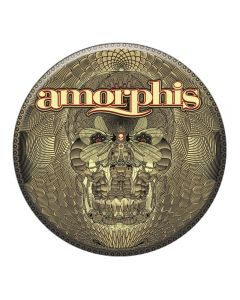 AMORPHIS - Queen of time - Button / Anstecker