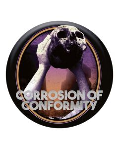 CORROSION OF CONFORMITY - No cross no crown - Button / Anstecker