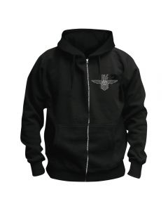 THE NIGHT FLIGHT ORCHESTRA - Logo - Kapuzenjacke / Zipper