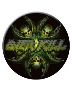 OVERKILL - The Wings of War - Button / Anstecker