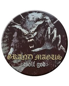 GRAND MAGUS - Wolf God - Button / Anstecker