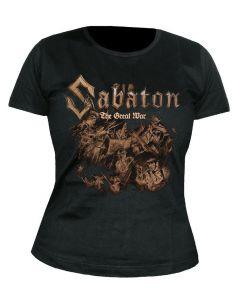 SABATON - Hatching - The Great War - GIRLIE - Shirt