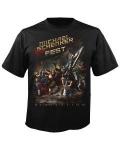 MICHAEL SCHENKER FEST - Revelation - T-Shirt