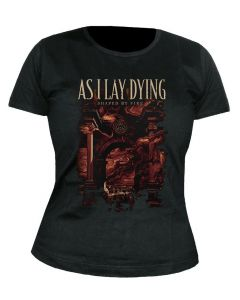 AS I LAY DYING - Shaped by Fire - GIRLIE - Shirt