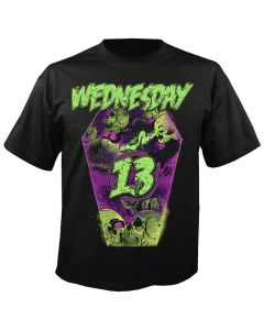 WEDNESDAY 13 - Necrophaze - Coffin - T-Shirt