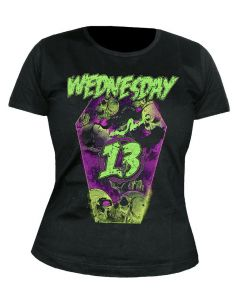 WEDNESDAY 13 - Necrophaze - Coffin - GIRLIE - Shirt