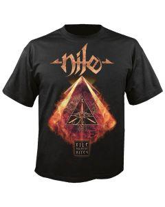 NILE - Vile nilotic rites - Cover - T-Shirt