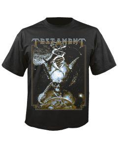 TESTAMENT - Titans of creation - Skull - Shirt
