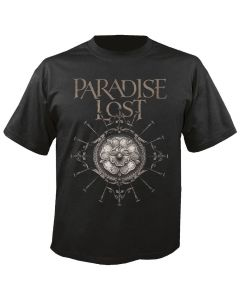 PARADISE LOST - Obsidian - Rose - T-Shirt