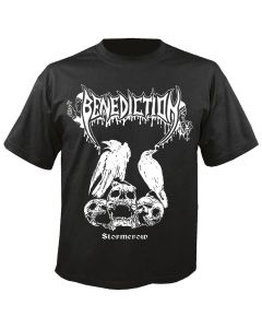 BENEDICTION - Stormcrow - T-Shirt