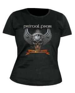 PRIMAL FEAR - Cover - Metal Commando - GIRLIE - Shirt