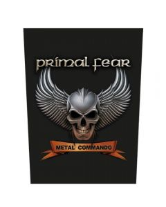 PRIMAL FEAR - Metal Commando - Backpatch / Rückenaufnäher