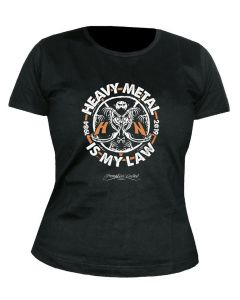 HELLOWEEN - Heavy Metal is my Law - GIRLIE - Shirt
