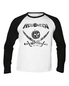 HELLOWEEN - German Metal Est. 1984 - Pirate Pumpkin - Baseball - Langarm - Shirt / Longsleeve