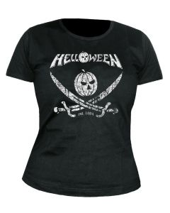 HELLOWEEN - German Metal Est. 1984 - Pirate Pumpkin - GIRLIE - Shirt