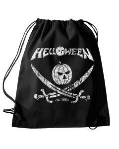 HELLOWEEN - Est. 1984 - Pirate - Turnbeutel / Rucksack / Gymbag