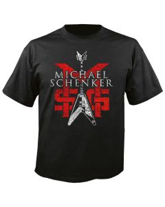 MSG - Michael Schenker Group - Logo - Black - T-Shirt