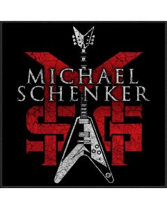 MSG - Michael Schenker Group - Logo -  Patch / Aufnäher