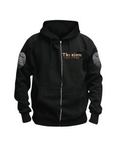 THERION - Cover - Leviathan - Kapuzenjacke - Zipper