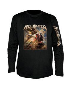 HELLOWEEN - Cover - Clock - Langarm - Shirt / Longsleeve