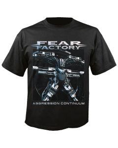 FEAR FACTORY - Cover - Aggression continuum - T-Shirt