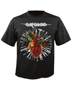 CARCASS - Cover - Torn arteries - T-Shirt