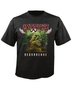 MASSACRE - Resurgence - Cover - T-Shirt