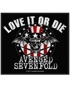 AVENGED SEVENFOLD - Love it or Die - Patch / Aufnäher